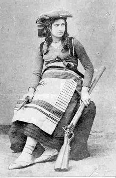 """Michelina Di Cesare- Italian """"brigantessa""""- female brigand!"""