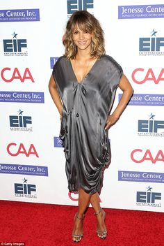 She's just fine: Halle Berry has broken her silence after her shock October split from Oli...
