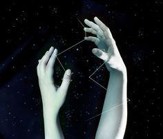 Jessica Grenon #bleaq #hands #night