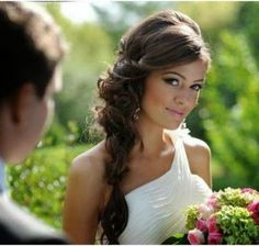 Wedding Hairstyles With Side Braids