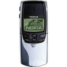 Good old times .. Nokia 8810
