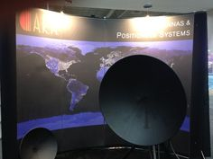 ARA displaying antennas and positioning systems