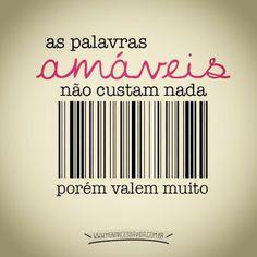 #amor #palavras #carinho