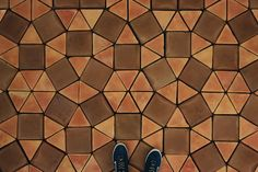 Teselado Kaleidos | Spanish terracotta floor tiles.
