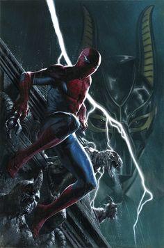 """Asombroso Spiderman 124Con la primera parte de """"Los muertos viven: La conspiración del clon"""". El Chacal ha vuelto, ha derrotado a la muerte y ha traído de regreso a muchos viejos enemigos del trepamuros, pero también a muchos de los seres queridos de Peter Parker. El guionista de """"Spider-Island"""", """"Universo Spiderman"""" y Spiderman Superior trae la siguiente historia definitoria del Hombre Araña."""
