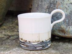 Stoneware coffee mug Pottery mug Ceramic mug by DankoHandmade