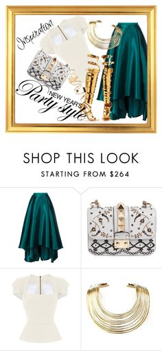 """New Year Pt. 1"" by ladylicious ❤ liked on Polyvore featuring Badgley Mischka, Valentino, Roland Mouret, Tom Ford, Bisjoux and BP."