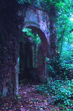 Medieval Portal, Lincolnshire, England- an old entrance to a secret garden, Abandoned Buildings, Abandoned Places, Abandoned Castles, Haunted Places, Abandoned Mansions, The Secret Garden, Belle Photo, Porches, Beautiful Places