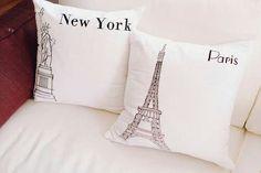 cojines NY- Paris
