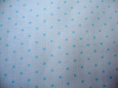 Moda Essential Dots Baby Blue on White 1 Yard Cut by Jambearies