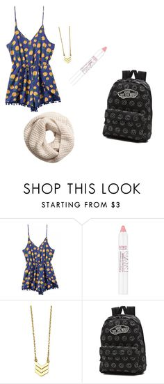 """""""Untitled #11"""" by calitay03 ❤ liked on Polyvore featuring beauty, Vans and H&M"""