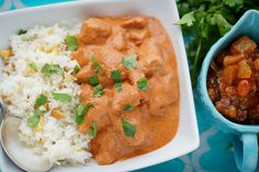 We went to the Bombay House in Provo where we lived at the time, and he got hooked on Chicken Tikka Masala Val's recipe she uses.