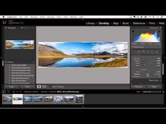 Adobe Lightroom quickly makes HDR and panoramas from multiple photos