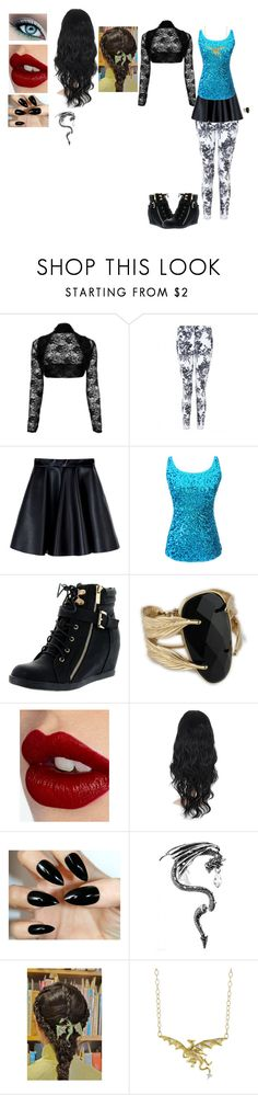 """Liliana, Family Day"" by locksley-cxli ❤ liked on Polyvore featuring MSGM, Top Moda, Charlotte Tilbury and Cathy Waterman"