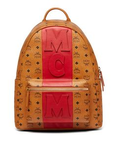 Stark Stripe Visetos Backpack by MCM at Neiman Marcus 338c96c351d20