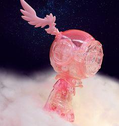 Little Sank Pink Cloud Edition vinyl figure by Sank Toys Vinyl Toys, Vinyl Art, Pink Clouds, Designer Toys, Vinyl Figures, Sink, Products, Sink Tops, Vessel Sink