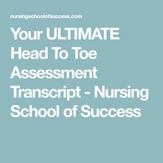 Test bank downloadable for medical surgical nursing assessment and your ultimate head to toe assessment transcript fandeluxe Images