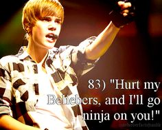 Justin come and go ninja on some people, they hurt meh 'cuz m a Belieber Justin Bieber Quotes, Justin Bieber Facts, All About Justin Bieber, Big Love, Love You So Much, Love Him, Latest Albums, To My Future Husband, Cute Guys