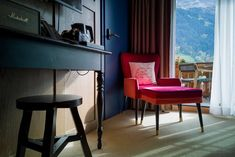 Glacier Boutique Hotel in Grindelwald: Design meets the Eiger North Face Design Hotel, Eiger North Face, Grindelwald, Boutique, Corner Desk, The North Face, Switzerland, Furniture, Home Decor