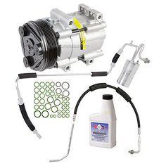 Ac Compressor & Clutch With Complete A/c Repair Kit Fits Ford & Mercury #car #truck #parts #air #conditioning #heat #a/c #compressor #clutch #f3dz19c836ga