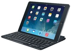 Simplify typing on an iPad air with a thin keyboard