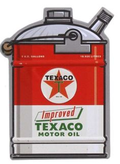 Texaco Motor Oil Vintage Sign