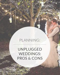 Hashtags, Tweets, Instagrams, Shares, Likes—Oh my! Will you have an unplugged wedding or go off the grid? Here are the pros and cons! #offthegrid