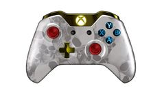 XboxOneController-WhiteSkullz   Flickr - Photo Sharing! #xboxonecontroller #xbone #xbox1controller #customcontroller #moddedcontroller