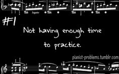 Yes! Pianist problems