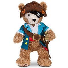 Duffy the Disney Bear Pirate Costume -- 17'' H