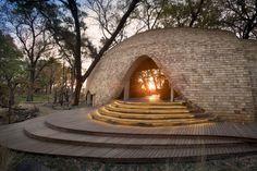Nicholas Plewman Architects, Sandibe Okavango Safari Lodge, Okavango Delta, Botswana