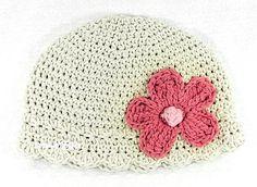 Crochet Hat Pattern Newborn Crochet Hat Daisy Flapper  PDF 120 Newborn Baby to Adult  Photo Prop Permission to Sell Hat