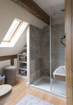 Small bathroom renovations 741827369855720808 - Amazing Genius Attic Bathroom Remodel Design Ideas Source by briellencayenne Loft Bathroom, Bathroom Layout, Small Bathroom, Bathroom Ideas, Budget Bathroom, Washroom, Bathroom Vanities, Master Bathrooms, Bathroom Designs