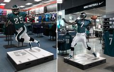 Fusion: Nike NFL  ...custom designed mannequins to personify your brand... http://www.fusionspecialties.com