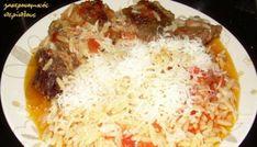 """""""Γιουβέτσι"""" με τόνο (ή άλλο ψαρικό κονσέρβας) - cretangastronomy.gr Greek Recipes, Keto Recipes, Cetogenic Diet, Tasty, Yummy Food, Happy Foods, Home Food, Orzo, Macaroni And Cheese"""