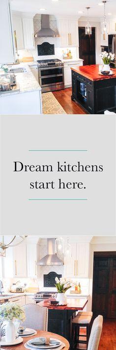 Start your #free kitchen design today!