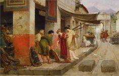 Ettore Forti, Carpets seller at Pompeii.