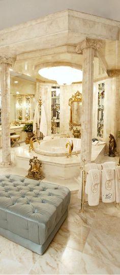 This is gorgeous! #dreambath #ensuite www.findinghomesinlasvegas.com. Keller Williams Las Vegas & Henderson, NV.