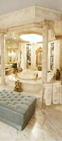 This is gorgeous! #dreambath #ensuite www.findinghomesinlasvegas.com. Keller Williams Las Vegas & Henderson, NV.