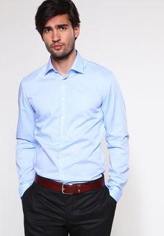 SLIM FIT - Men's Shirt - hellblau