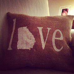 #LifeInColor Georgia pillow