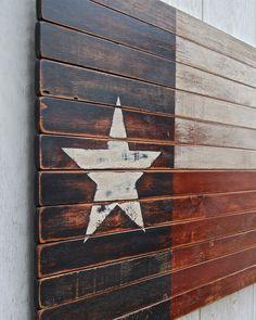 Texas Star Wall Decor wayne works texas flag reclaimed wood wall art | gifts, texas