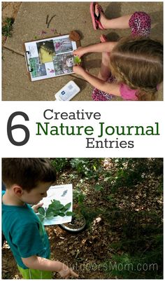 Check out these fun activities that expand kids knowledge of nature and preserve some unique memories. Science Activities For Kids, Nature Activities, Outdoor Activities, Preschool Science, Literacy Activities, Outdoor Education, Outdoor Learning, Outdoor Play, Kids Art Class