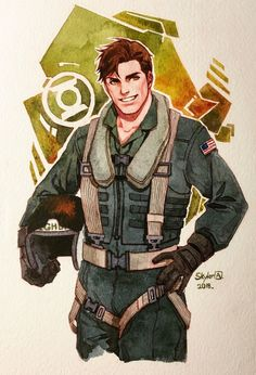 k-axani ace pilot Hal Jordan