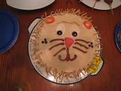 Happy 1st Birthday - Lion Cake