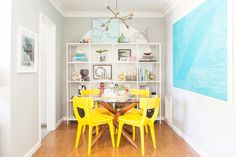 Dining Room Transformation - A one day makeover for any room in your home by Homepolish Los Angeles https://www.homepolish.com/mag/page/1