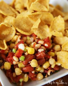 Kansas Caviar: an easy appetizer recipe idea for a party!