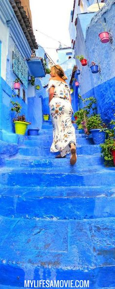 How to Get to Chefchaouen: Morocco's Blue City - Solo Female Travel in Morocco Made Easy with this guide on how to get the Morocco's Blue City!