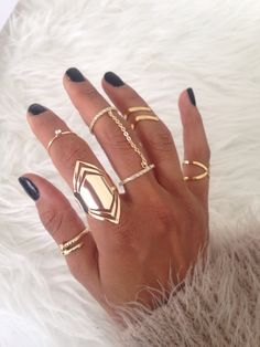 Fashion rings on www.iamzu.com #rings #fashion #iamzu #ringswag #musthaves