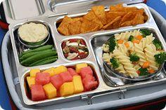 Cool Lunch box for easy packing! #VeganLunchBox #VeganKids